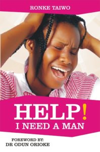 HELP! I NEED A MAN (THE BOOK)