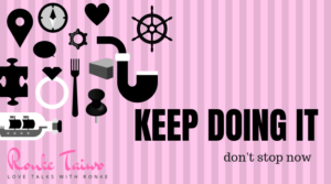 Read more about the article KEEP DOING IT